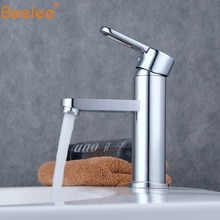 Beelee Bathroom Sink Tap Single Holder Single HoLe Basic Faucet Chrome Mixer Tap BL6302