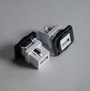 Lot of 5 D-USB USB module Panel mounting