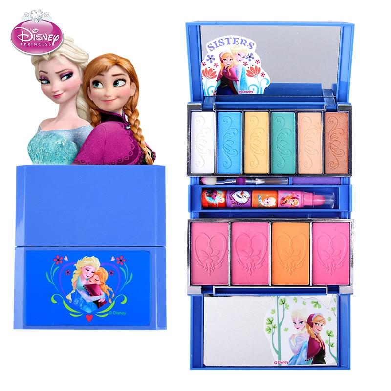 Дисней претендуют play frozen Детская косметика принцесса макияж коробка набор