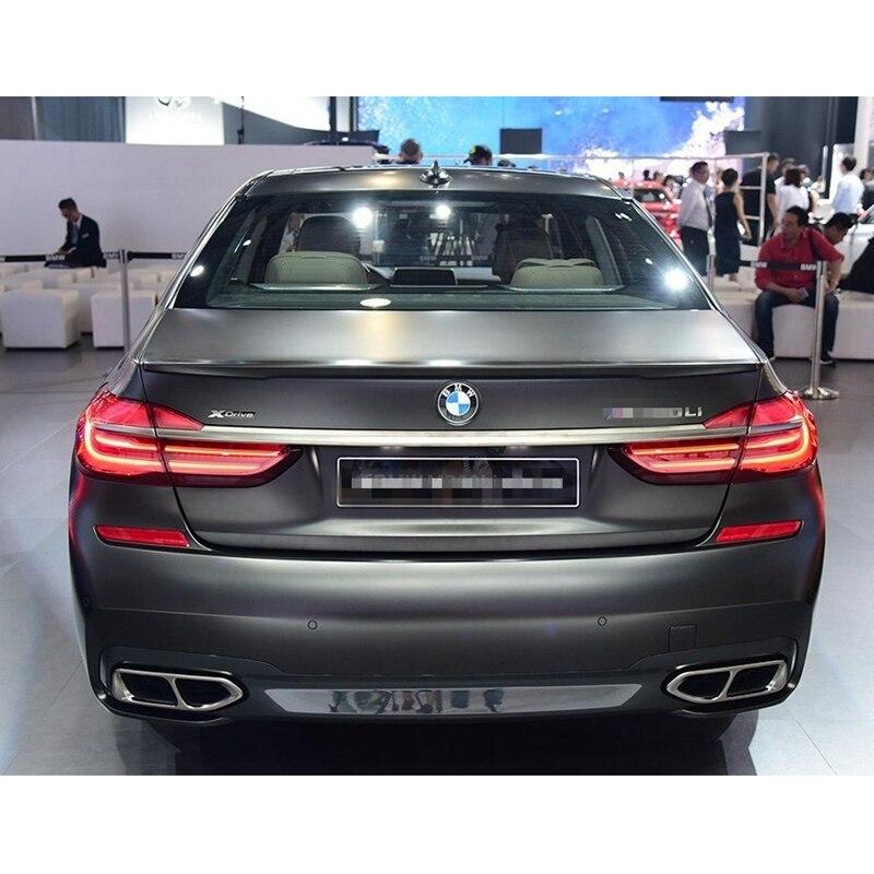 FRP de alerón trasero para maletero color de pintura Lip P estilo para BMW G11 G12 serie 7 740i 750i Sedan 2016-2018