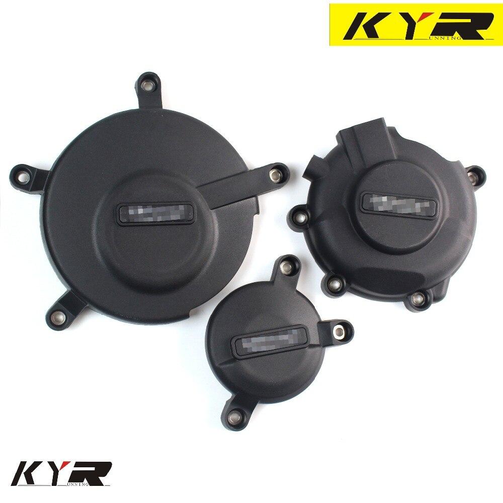 Para Suzuki GSXR600 GSXR750 GSXR 600 GSXR 750 motocicletas embrague del motor alternador cubierta protectora conjunto Protector deslizante