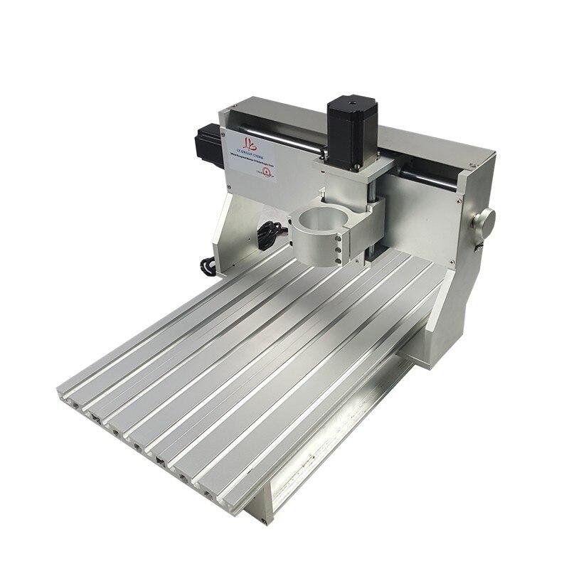 60*40 3 ejes DIY metal mini cnc router marco 6040 PCB grabado máquina partes con interruptor de límite motor marco de la máquina cnc