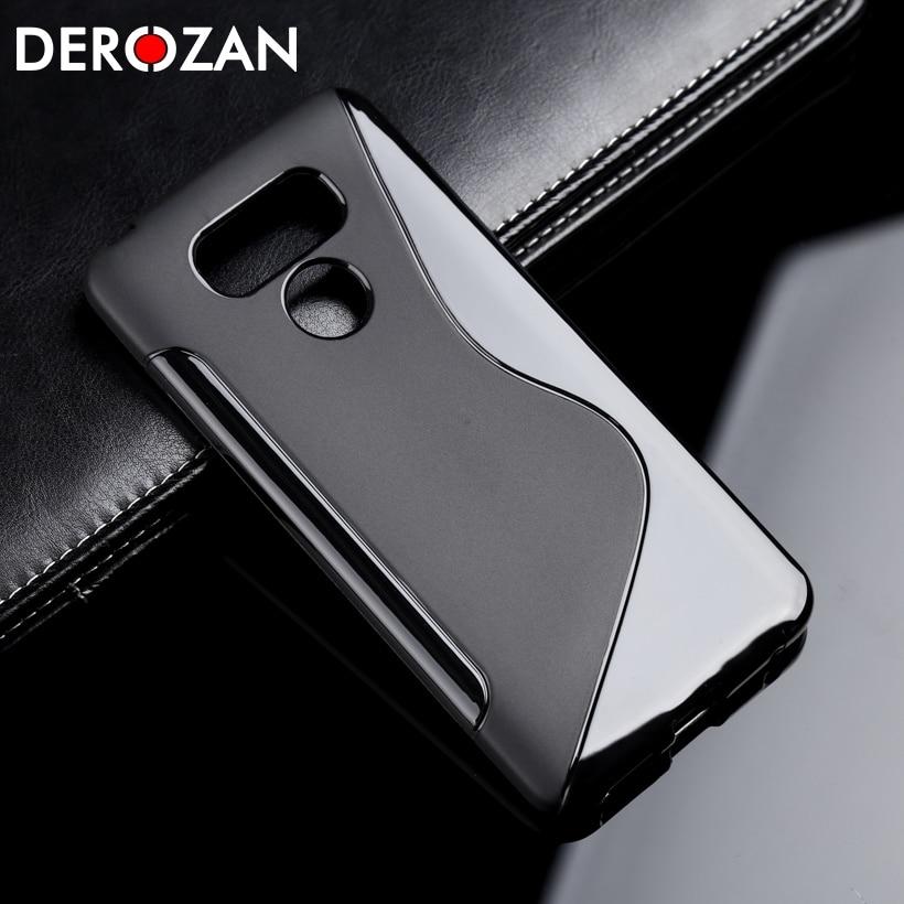 Funda DEROZAN para LG K10 2017 cubierta G6 G4 Mini Magna Nexus 5 G3 K8 K4 K3 K5 espíritu L90 Stylus 2 3 Leon clase X