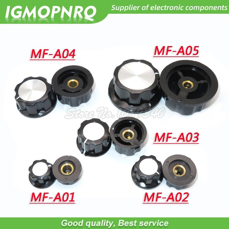 5 uds MF-A01 MF-A02 MF-A03 MF-A04 MF-A05 perilla de potenciómetro WH118/WX050 interruptor giratorio electrónicos 6mm IGMOPNRQ