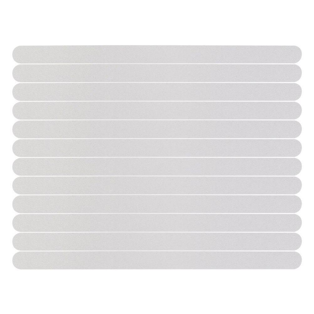 24pcs Anti Slip Bath Grip Sticker Non Slip Shower Strips Flooring Safety Tape Mat Pad Kid Home Anti -Slip Strips 2cm*20cm A30