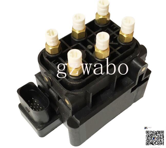 Marca nuevo aire Válvula de suspensión de aire Válvula de 4F0616013 4H0616013A 3D0616013B A6 C6 A8 D3 A6 C5