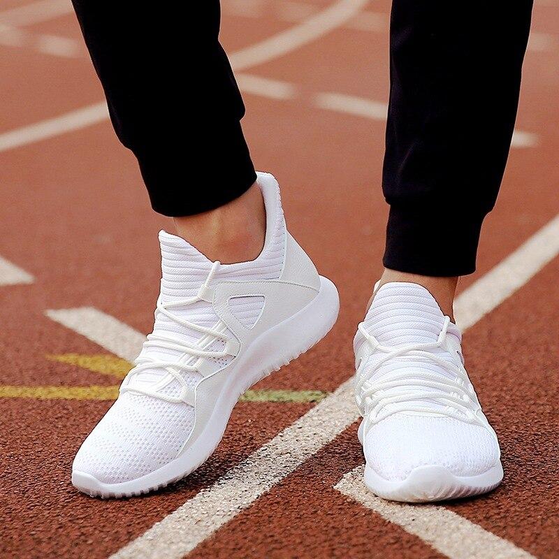 2020 الأبيض تنفس رجل حذاء كاجوال تنيس Masculino Adulto مريحة الذكور رياضية سوداء كبيرة حجم سلال أوم كما-61