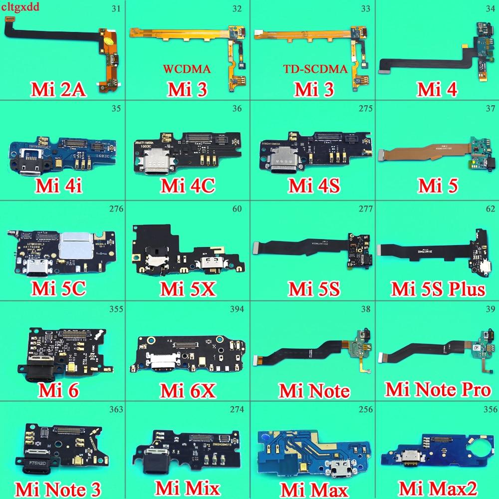 Für Xiao mi mi 4I 4C 4 S 5X 5C 5 S Max 2 mi x 6 6X Hinweis 3 mi cro Dock Connector mit mi crophone Bord USB Lade Port Flex Kabel