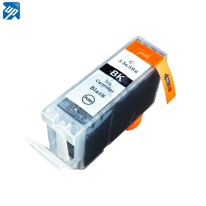 5 negro sólo 3eBK cartucho de tinta para CANON i-6500 S-6300 S-400 S-520 impresora