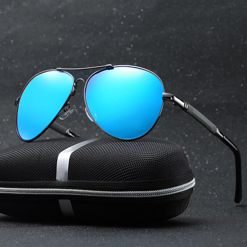 Мужские поляризованные солнцезащитные очки, модные очки для глаз, мужские и женские квадратные солнцезащитные очки для вождения, 2019
