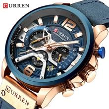 Relojes CURREN para hombre, relojes deportivos de marca para hombre, reloj de cuarzo para hombre, reloj de pulsera informal militar resistente al agua, reloj masculino