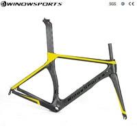 New Arrive Color Aero Road Racing Bike Frameset matte/glossy Di2 & mechanical racing carbon road frame cycling bicycle road bike