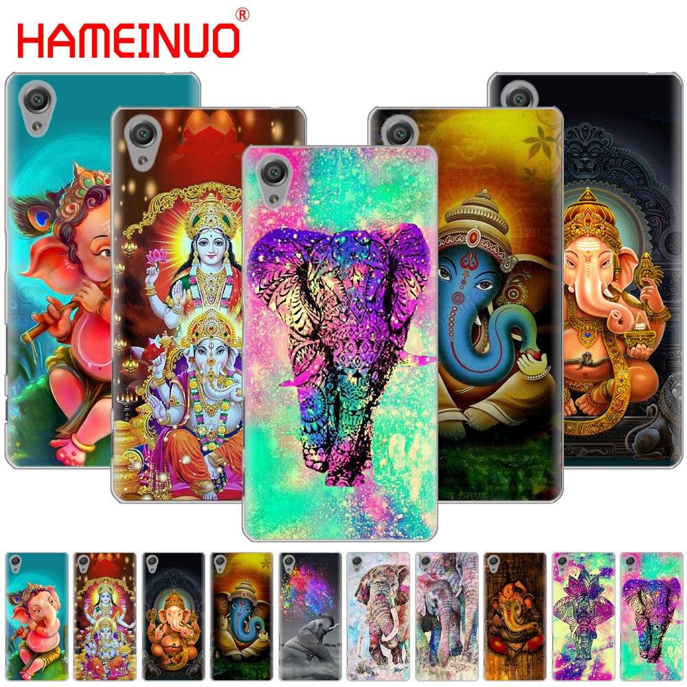 O Deus Hindu Ganesha HAMEINUO C6 telefone Case Capa para sony xperia XA1 XA2 XA ULTRA X L1 L2 X XZ1 compact XR XP/XZ PRÉMIO