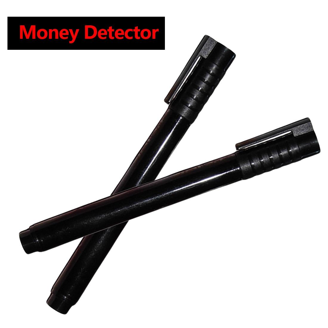 Проверка денег детектор валюты 2 шт./компл. поддельный маркер поддельный тестер банкнот ручка чернила ручные инструменты для проверки