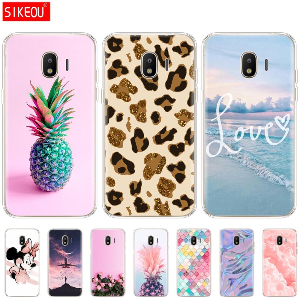 Color Phone Case For Samsung J2 Core Soft Silicon Back Cover Phone Case For Samsung Galaxy J2 Core 2018 J 2 SM-J260F J260F J260