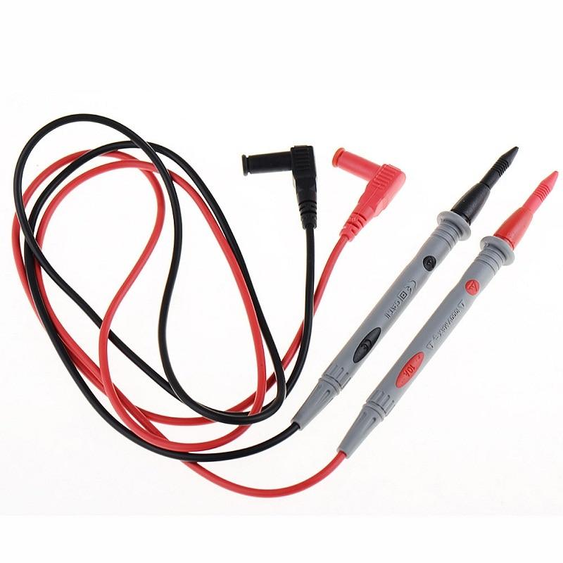 1 пара 3010B сверхмощный мультиметр Вольтметр прорезиненный тест-зонд провод ручка кабель 1000 В 10A SR1G