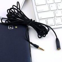 Câble dextension pour écouteurs 3 M/10ft 3.5mm mâle à femelle Audio stéréo câble dextension pour écouteurs câble adaptateur pour téléphone portable PC MP3 MP4