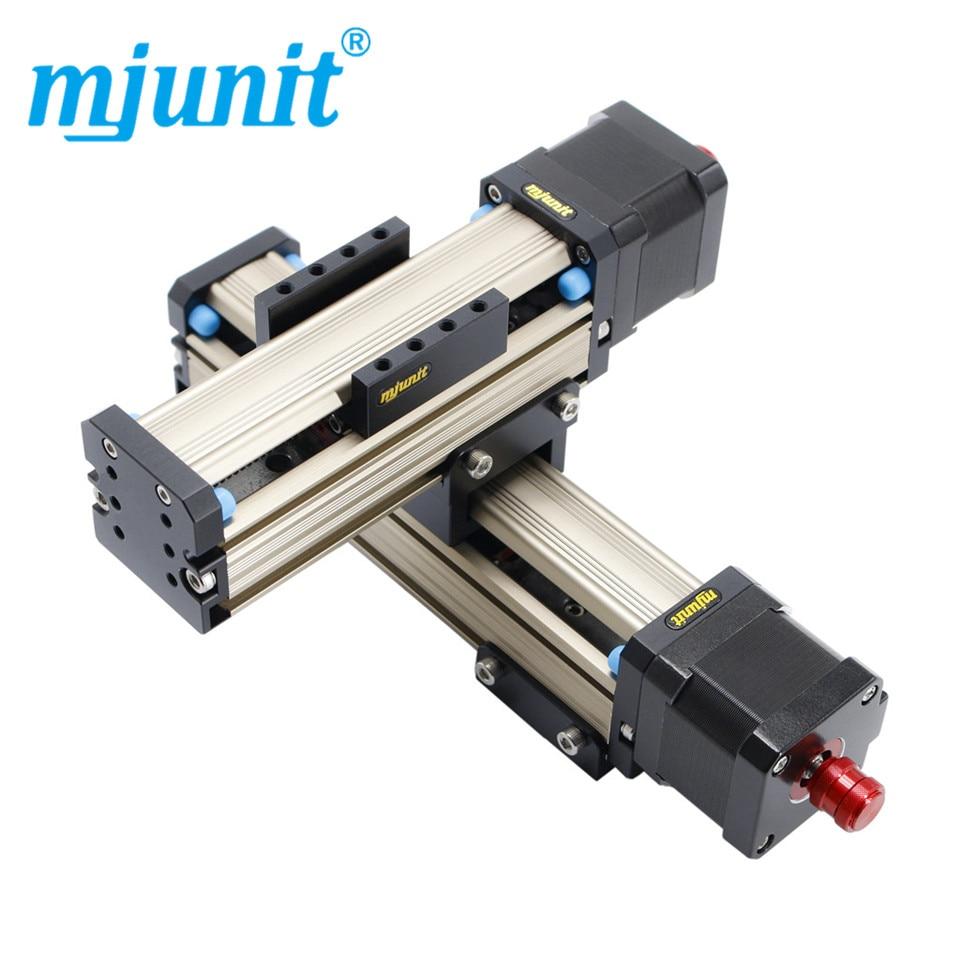 Mjunit-محرك لولبي MJ42 ، سكة توجيه خطية ، شوط 100 مللي متر