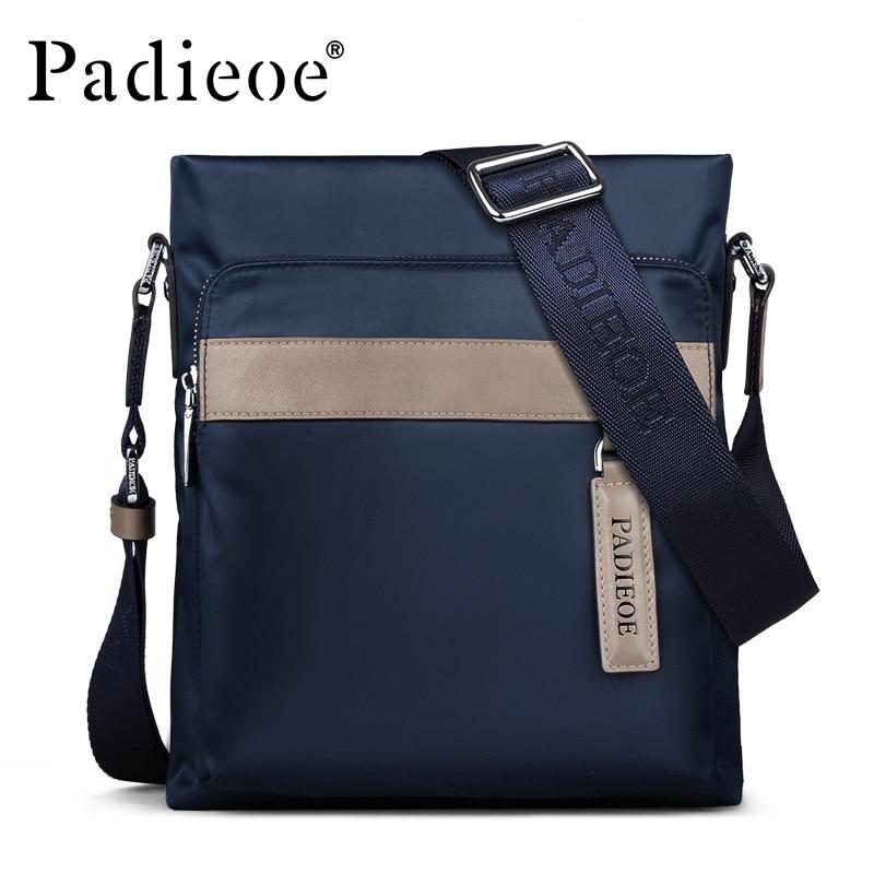 Padieoe Messenger Bag Nylon Casual Shoulder Bag for Male High Quality Business Travel Crossbody Bag Famous Brand Men Handbag