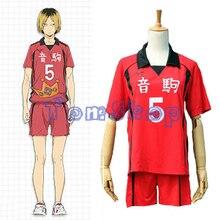 Haikyuu! Nekoma high school #5 kenma kozume cosplay traje jérsei esportes usar uniforme tamanho M-XXL frete grátis