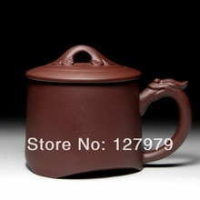 Yixing viola sabbia pentola di argilla viola tazza da tè, di stile del drago, tazza da tè, puer, oolong, tazza di tè verde, teaset ~