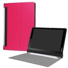 Housse en cuir funda pour Lenovo Yoga Tab3 Plus YT-X703 10.1