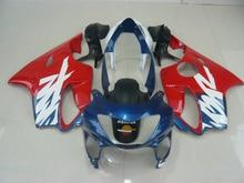 Custom Motorrad Verkleidung kit für HONDA CBR600 F4 99 00 CBR600F4 1999 2000 F4 CBR600 Mode rot blau ABS Verkleidungen set-Nn