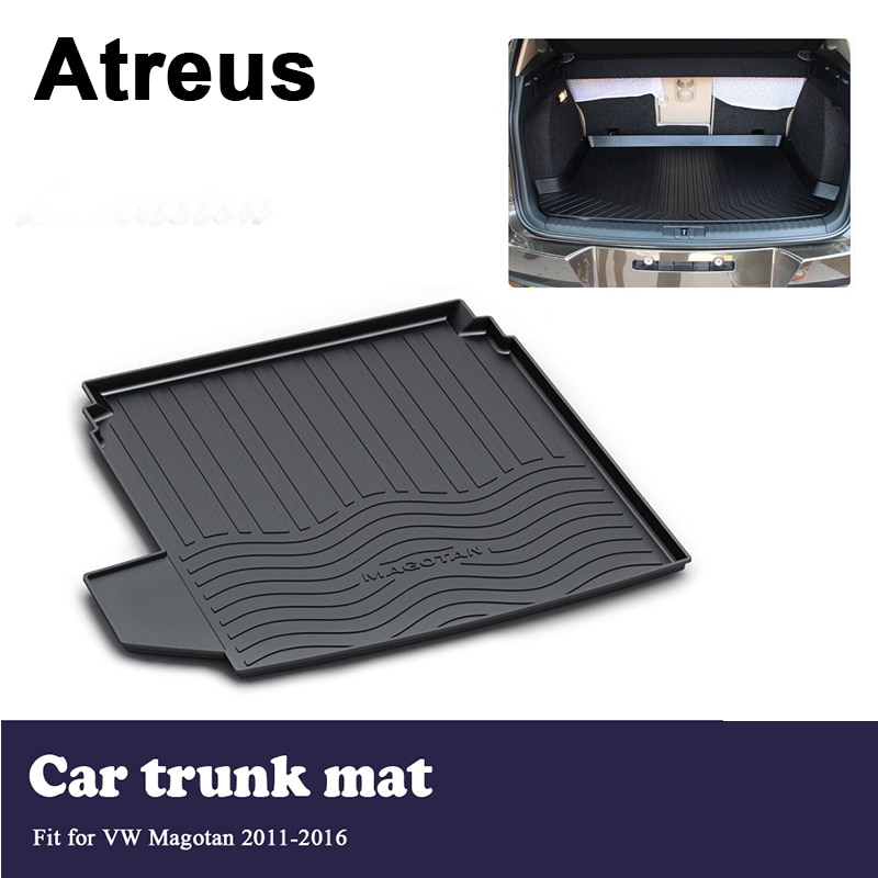 Atreus, cubierta protectora para maletero de coche, piso de carga, cubierta protectora, manta para Volkswagen VW Magotan B7 2011 2012 2013 2014 2015 2016