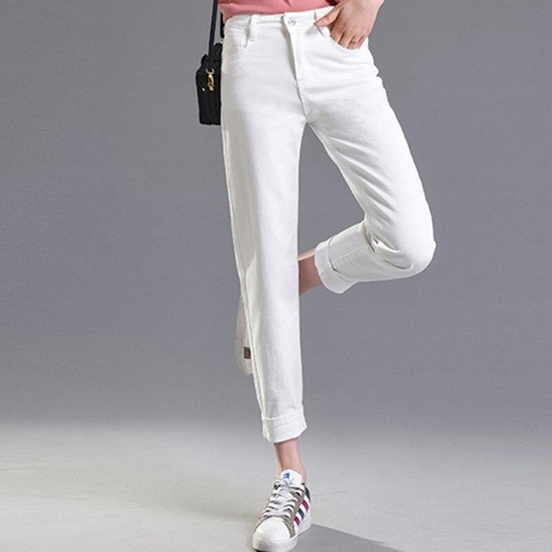 Женские винтажные джинсы JUJULAND 9, эластичные черные джинсы-карандаш с высокой талией, Классические облегающие джинсы
