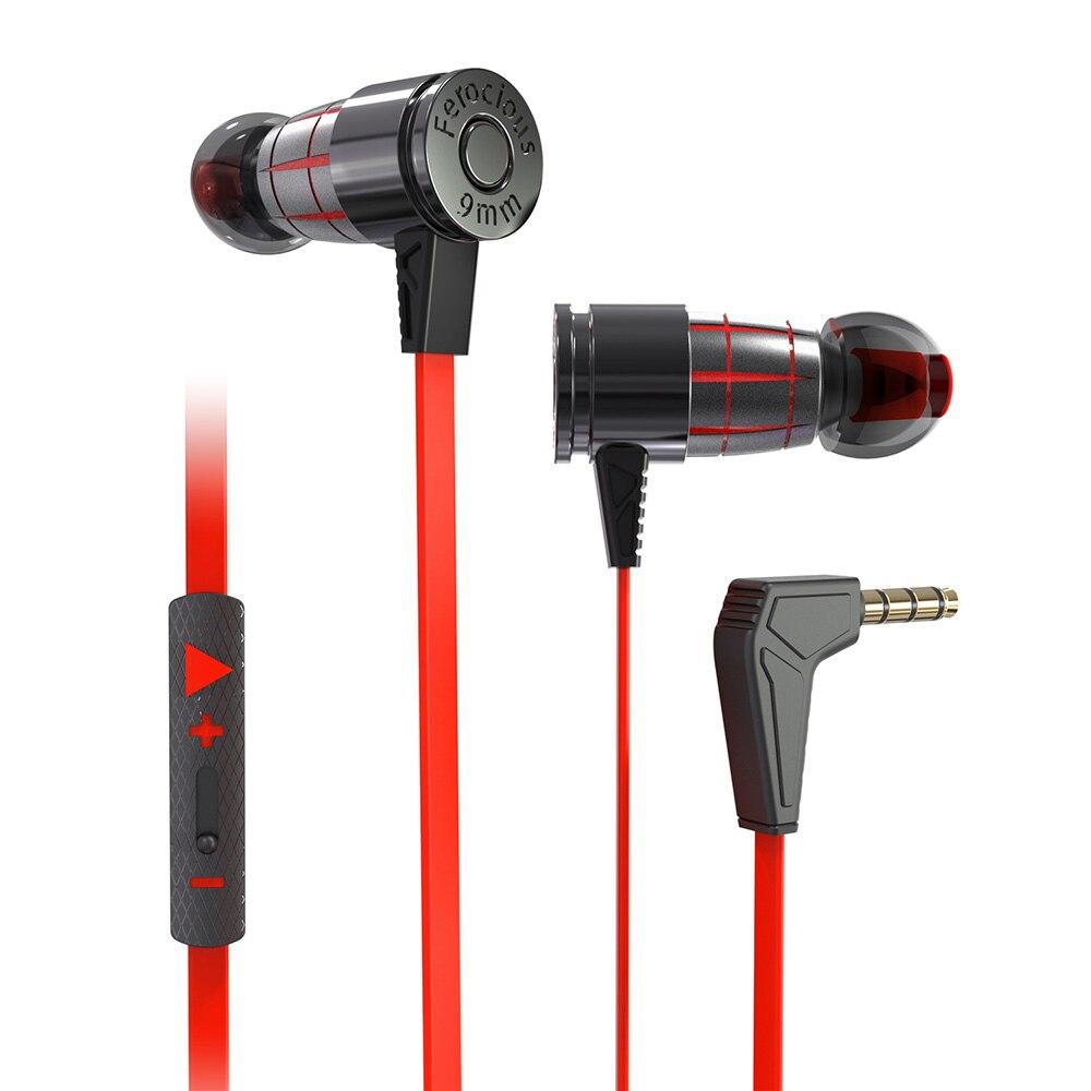 Auriculares VirWir para juegos, auriculares con micrófono en la oreja, auriculares estéreo magnéticos, auriculares para ordenador, Gamer