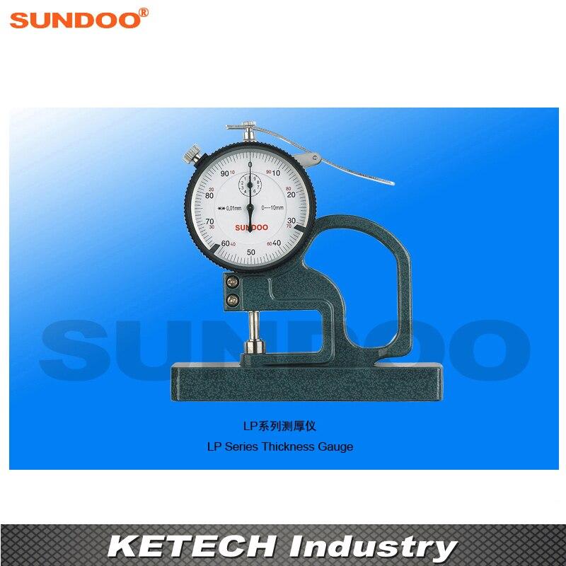 Medidor de espesor Sundoo LP-5710 puntero por ciento