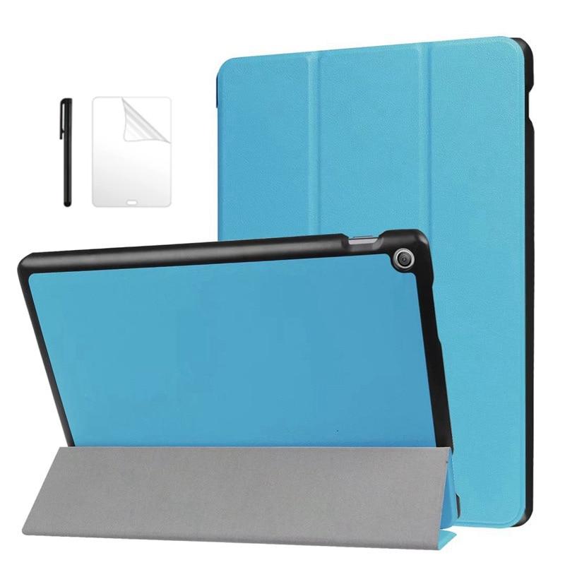 Magnetische PU Leder Fall Für Asus ZenPad 10 Z300 Z300C Z300CL Z300CG Z300M Z301 Z301ML 10,1 zoll schutzhülle Tablet Fall + flim + Stift
