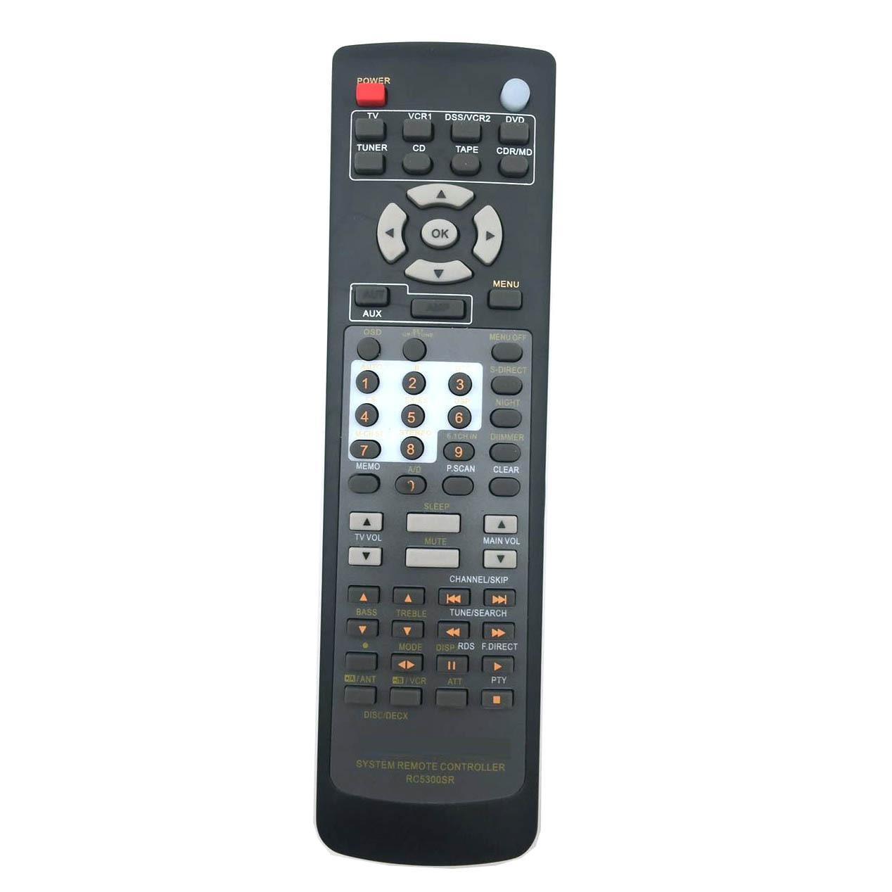 New Remote Control Marantz SR4200 SR4300 SR4400 SR4600 SR5200 SR5300 SR5400 SR5500 RC5200SR RC5300SR RC5400SR RC5600SR SR6200