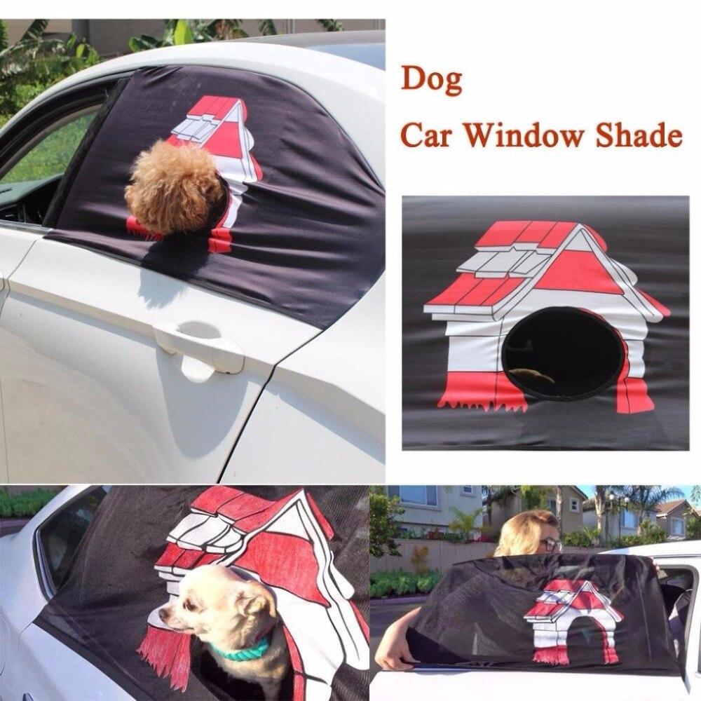 Nuevas llegadas, cortina Peekapet, cubierta plegable para visera de coche, parasol para ventana para perro, parasol para colgar en la ventana del coche