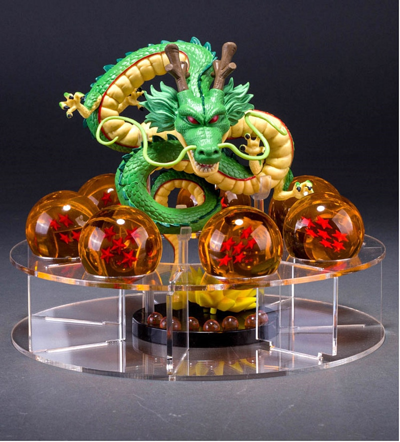 Dragon ball Z звезда, кристаллический шар среднего размера 4,5 см 1-7 звезда кронштейн для BANPRESTO Mega WCF Дракон *