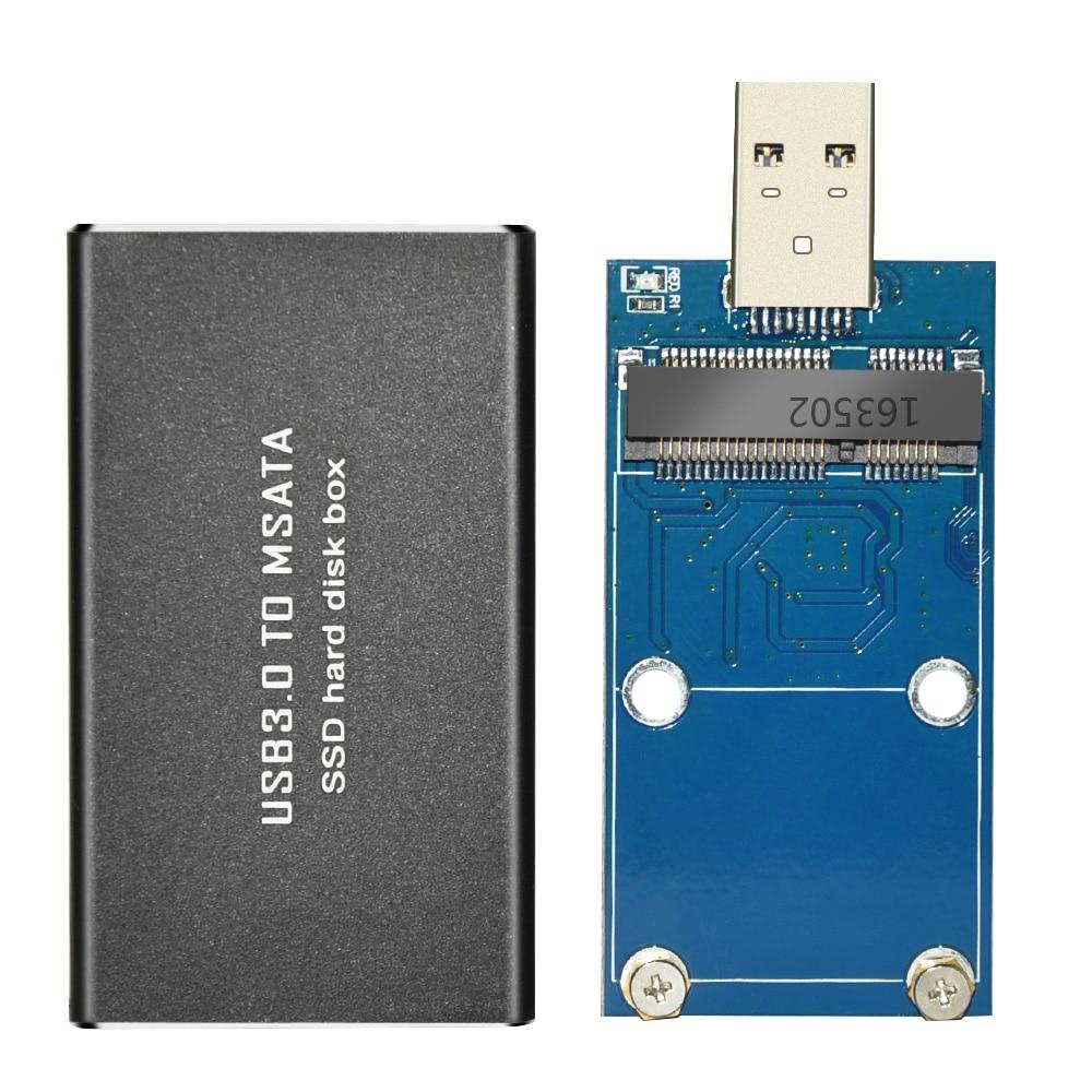 USB 3,0 для MSATA SSD жесткий диск футляр для внешнего жесткого диска
