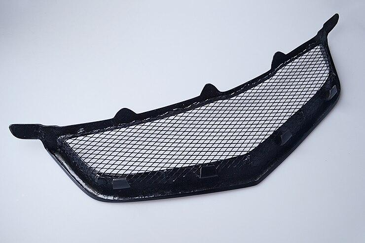 Rejilla delantera para coche parrilla para HONDA ACCORD CL7 fibra de carbono