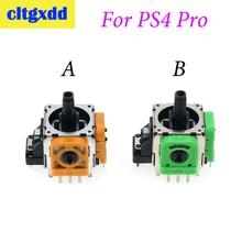 Cltgxdd 2 pièces/lot droite/gauche Joystick 3D capteur de bâton analogique pour Playstation 4 PS4 Pro contrôleur Dualshock 4