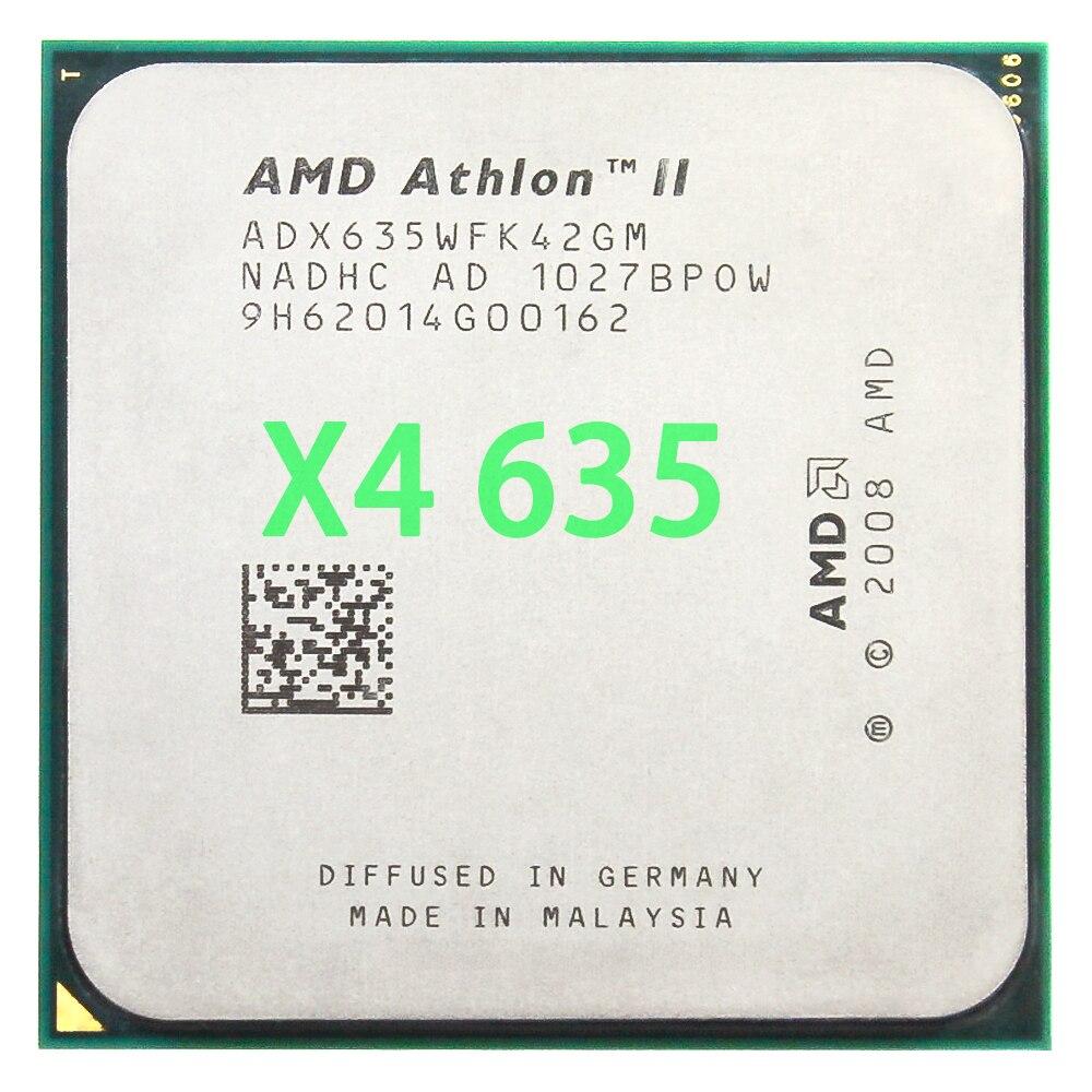 AMD Athlon II X4 635 CPU procesador Quad-CORE de 2,9 Ghz/ L2...