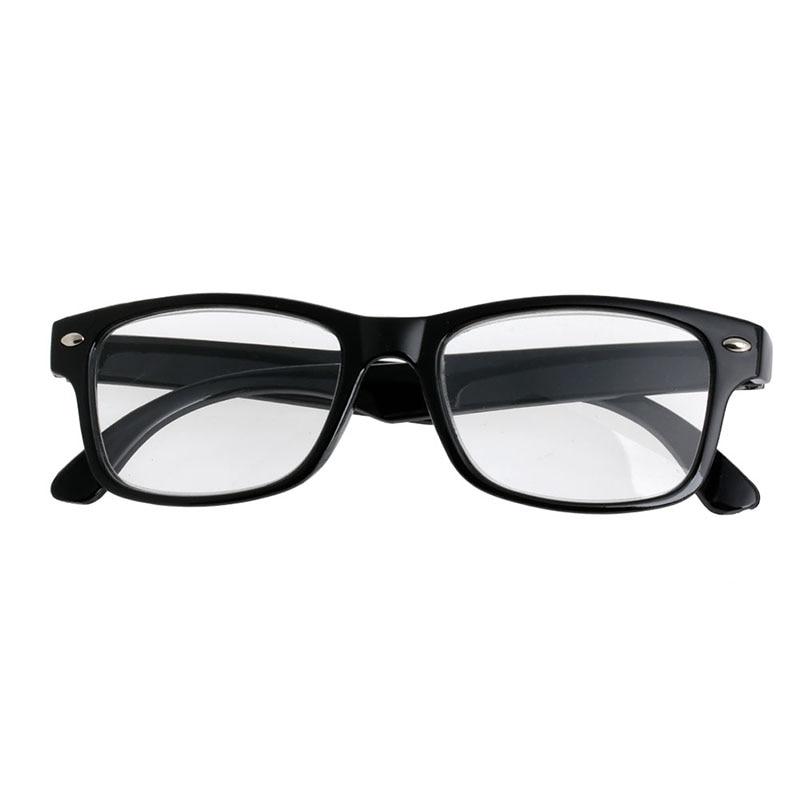 Classic Black Frame Retro Style spring Reading Glasses Readers +1.0 - 4.0