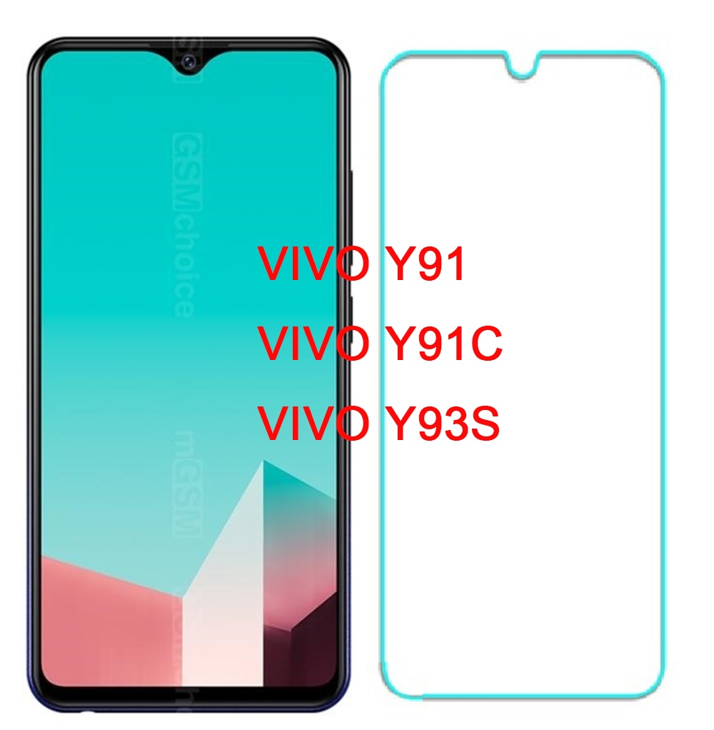 Protective for Vivo Y91 Y91C Glass on the VIVO Y91i Tempered Glass for VIVO Y93S Screen Protector FO