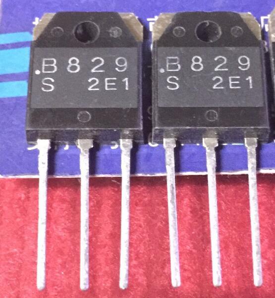 10 pares 2SB829 B829 + 2SD1065 D1065 TO-3p NpN pNp planar Epitaxial de transistores de silicio