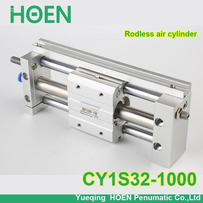 CY1S32-1000 SMC тип CY1S CY1B CY1R CY1L серии 32 мм диаметр 1000 мм ход скольжения подшипник магнитно соединенный Безшовный цилиндр