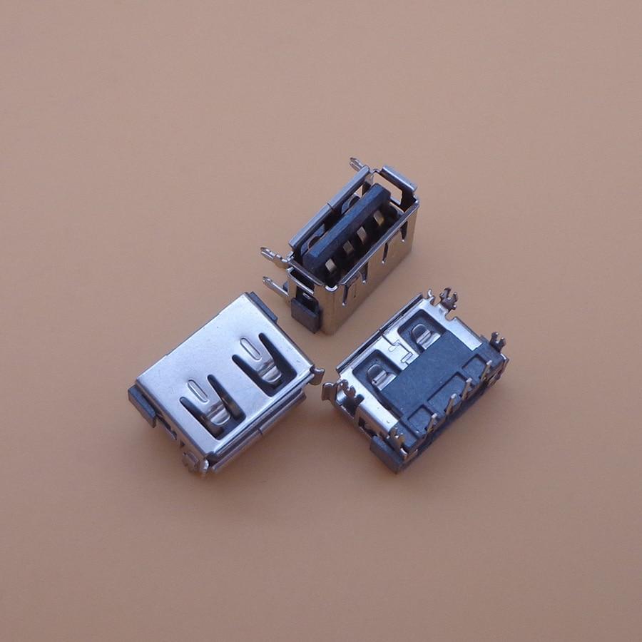 50X AC DC Puerto USB enchufe para clavija USB 2,0 pin conector para Toshiba Acer Satellie M805D C660 C660D L450D 10MM portátil