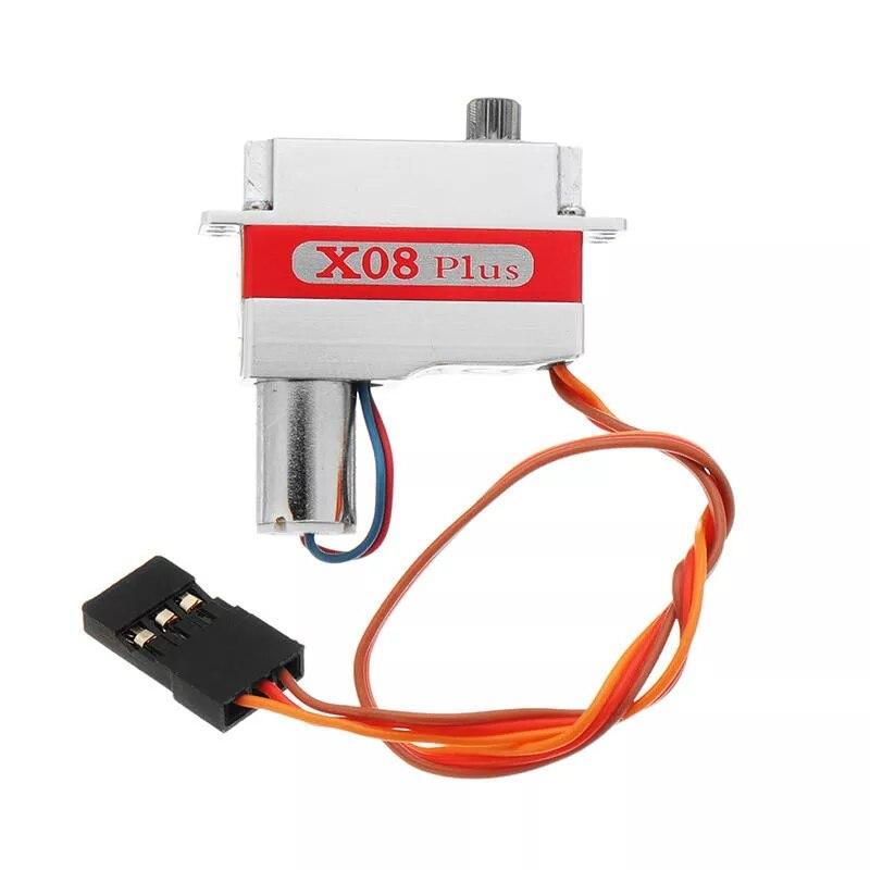 Engranaje de Metal KST X08 PLUS 9g Servo sin núcleo de ala Digital para modelo RC