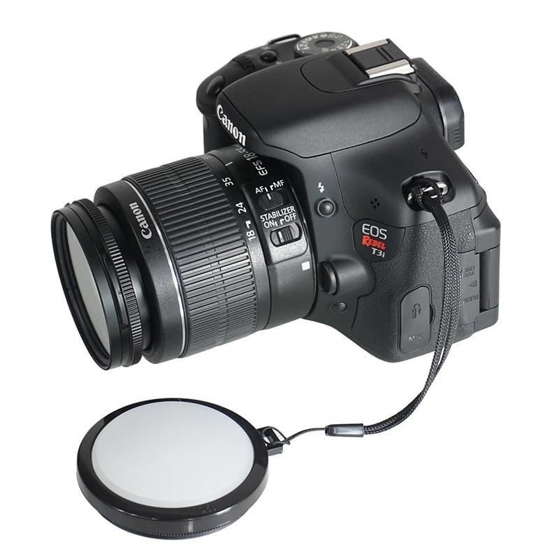 Kamera Objektiv Weißabgleich Objektivdeckel WB W/B 49 52 55 58 62 67 72 77mm für canon nikon sony pentax Kamera 500d 60d 70d 80d d5000 d3