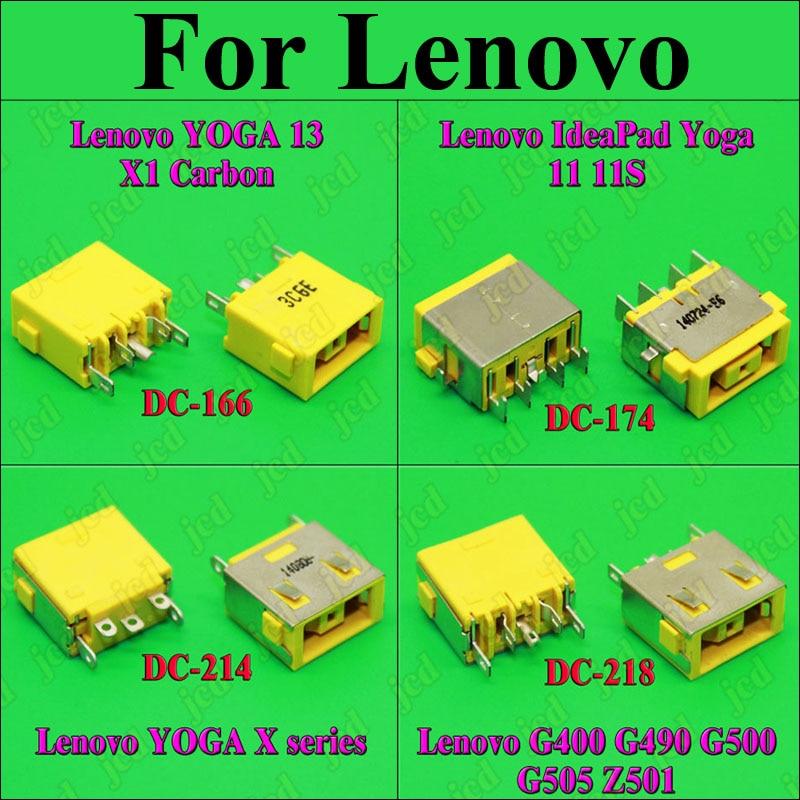 ChengHaoRan 1X DC разъем питания для LENOVO G400 G490 G500 G505 Z501 DC Jack 5pin OGA 13 X1 карбоновый желтый квадратный порт