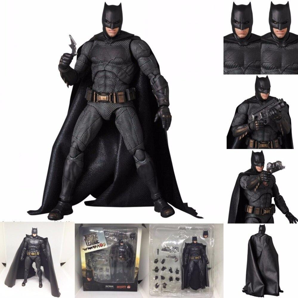 Liga de la justicia DC MAFEX 056 Batman Maf056 PVC figura de acción juguete de modelos coleccionables