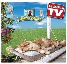 Горячая продажа Новая игрушка качели окно кровать кошка кровать Pet Гамак как видно по телевизору солнечное сиденье качели для домашних любимцев кровати