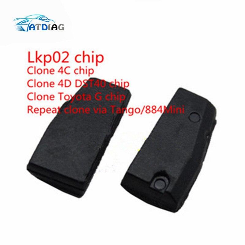 Envío Gratis clonador Lkp02 Chip puede clon 4c 4d G Chip a través de Tango o Keyline 884 de 5 unids/lote